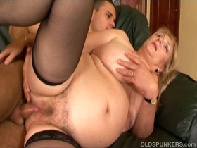 Old spunkers anal